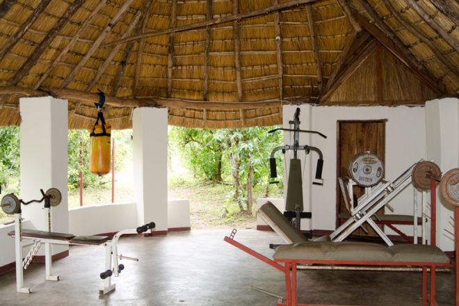 Kafunta River Lodge Gym House