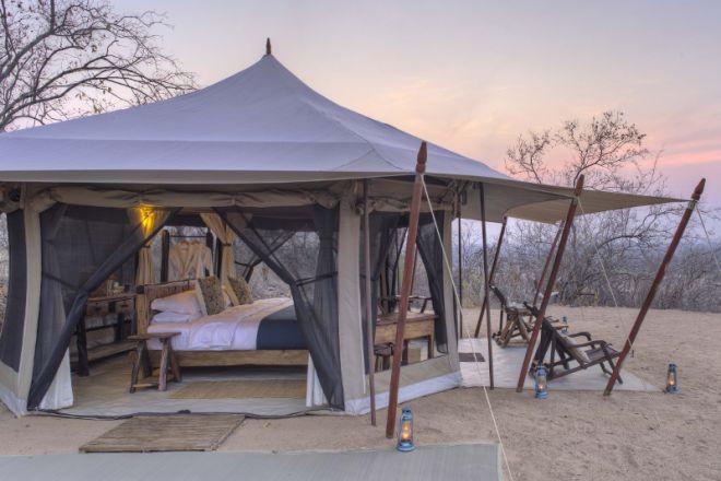 Kichaka Expeditions frontier tent exterior