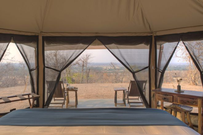 Kichaka Expeditions frontier tent view