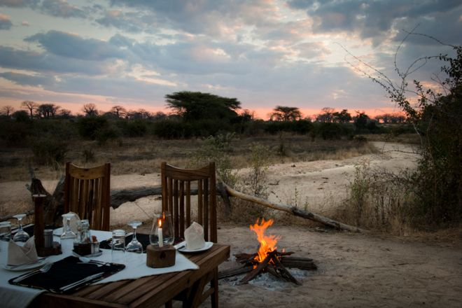 Kigelia Ruaha outdoor dining