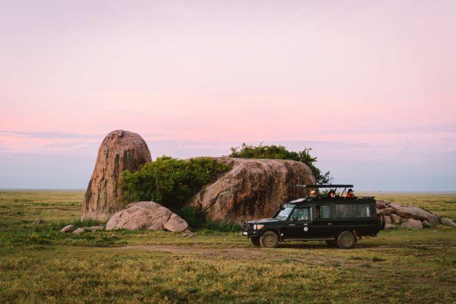 Kirurumu Serengeti Camp game drive