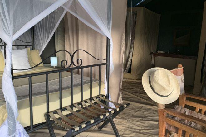 Kirurumu Serengeti Camp tent interior