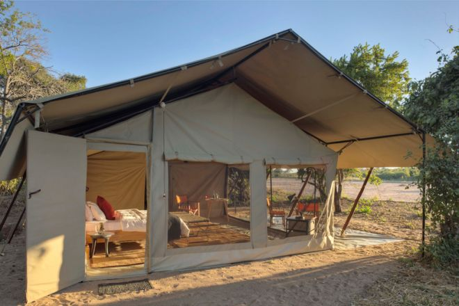 Kwihala Tented Camp exterior