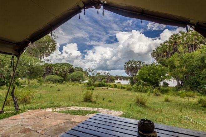 Lake Manze Tented Camp tent view