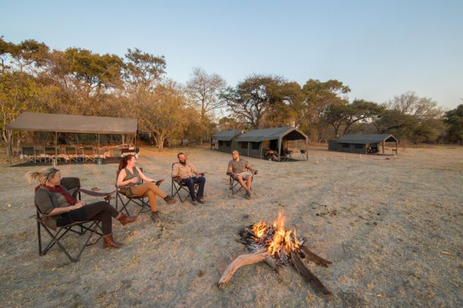 Letaka Private Mobile Safaris Camp