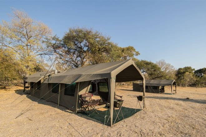 Letaka Private Mobile Safaris Family Tent