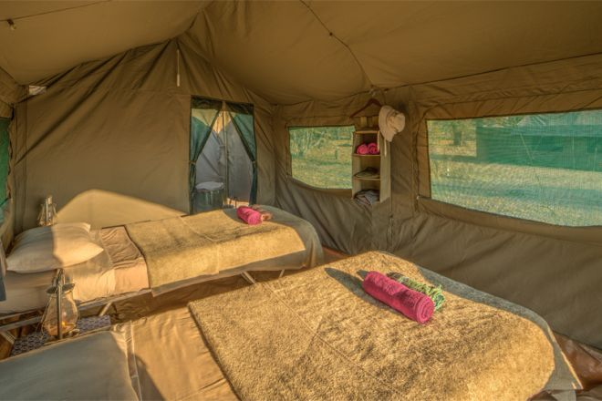 Letaka Private Mobile Safaris Tent Interior