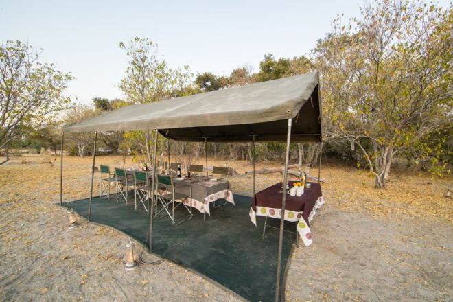 Letaka Private Mobile Safaris Dining Tent