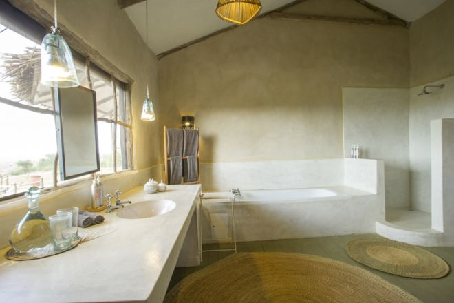 Mkombe's House Lamai bathroom