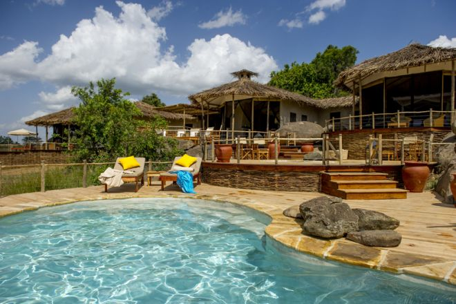 Mkombe's House Lamai pool