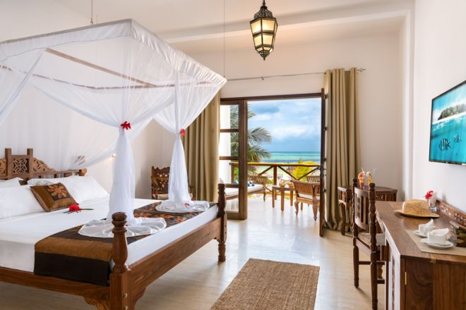Next Paradise Boutique Resort oceanfront room