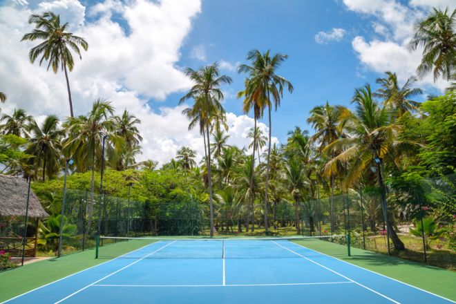 Next Paradise Boutique Resort tennis court