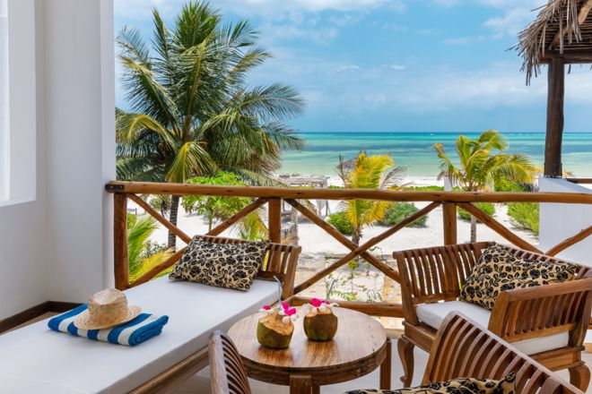 Next Paradise Boutique Resort verandah view