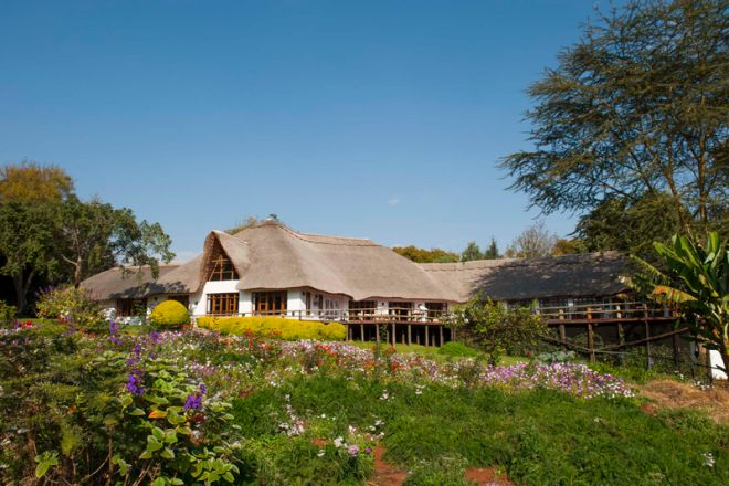 Ngorongoro Farm House exterior