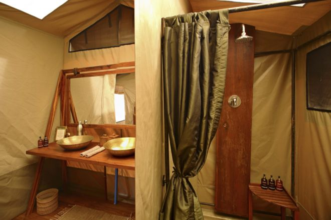 Olakira Migration Camp bathroom