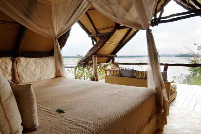 Sand Rivers Selous room view