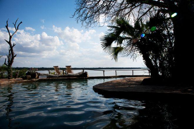 Sand Rivers Selous swimming pool