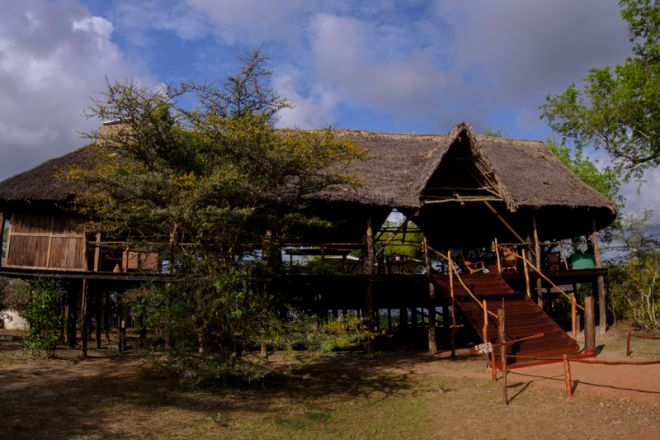 Selous Impala Camp main area exterior