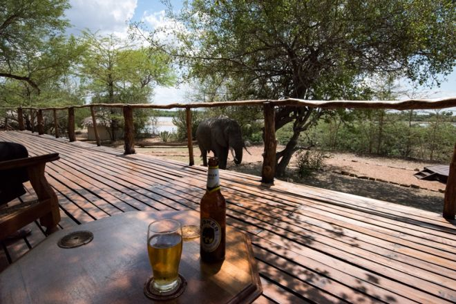 Selous Impala Camp main deck