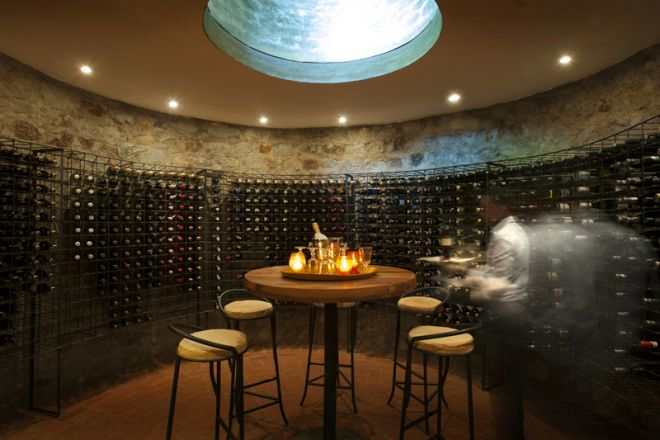 The Plantation Lodge wine cellar