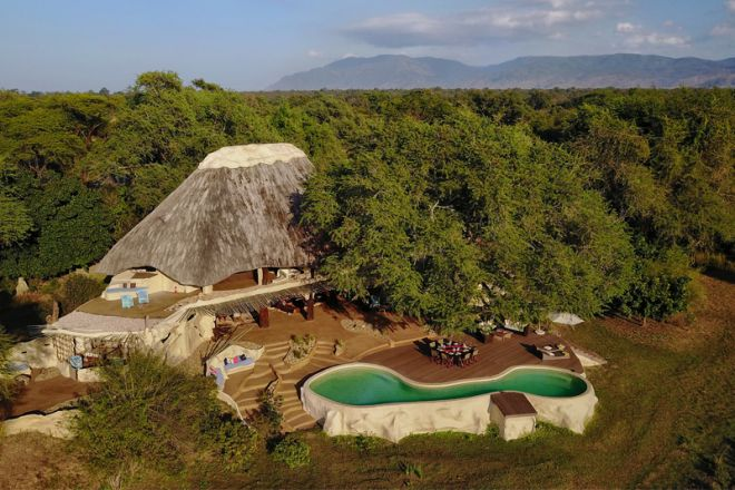 Time + Tide Chongwe House Aerial View
