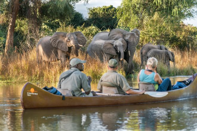 Time + Tide Chongwe House Canoe Elephant