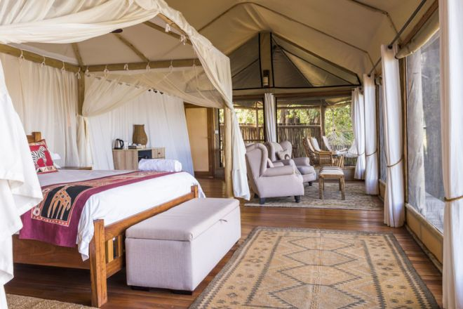 Amanzi Camp Bedroom