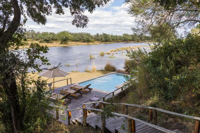 Amanzi Camp Pool Setting