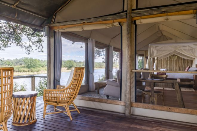 Amanzi Camp Room Deck
