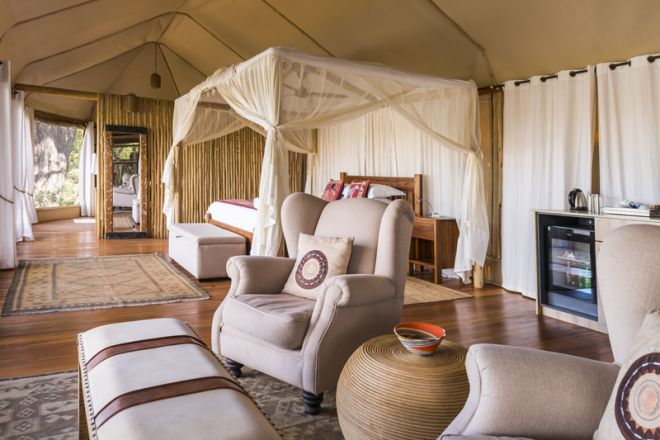 Amanzi Camp Room Lounge