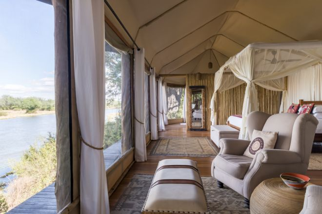 Amanzi Camp Room View