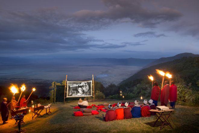 &Beyond Ngorongoro Crater Lodge bush movie