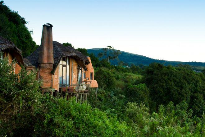 &Beyond Ngorongoro Crater Lodge exterior