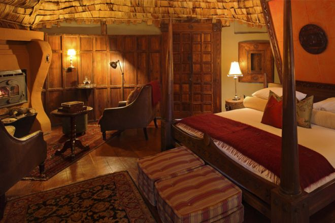 &Beyond Ngorongoro Crater Lodge guest room