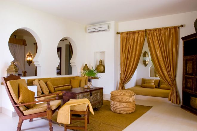 Baraza Resort & Spa villa lounge