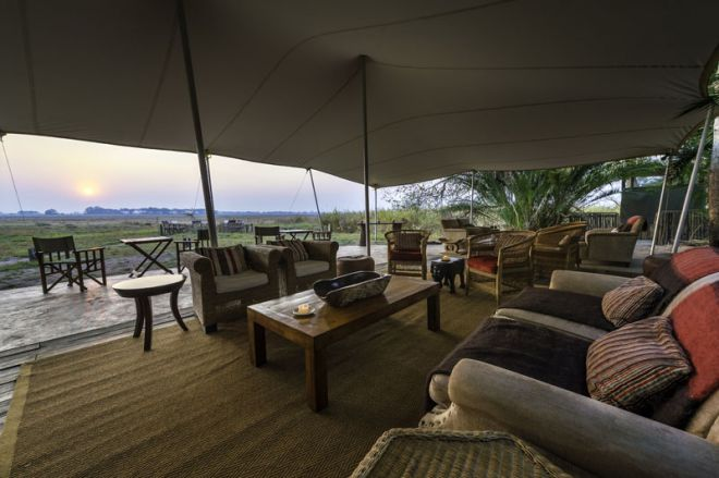 Busanga Bush Camp Lounge