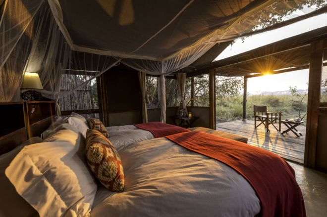 Busanga Bush Camp Room