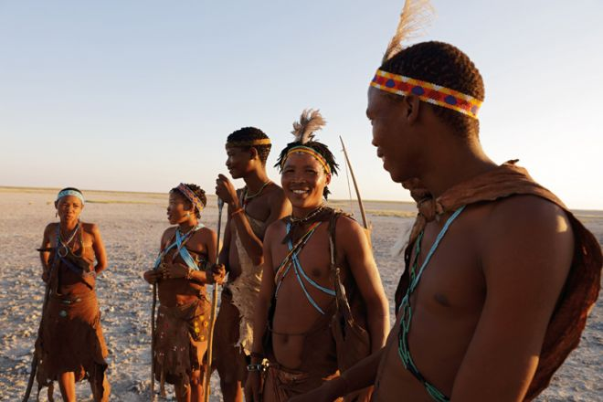 Camp Kalahari Bushmen