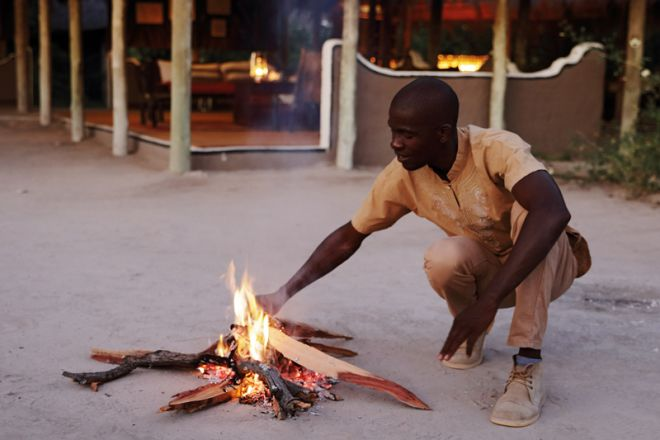 Camp Kalahari Campfire