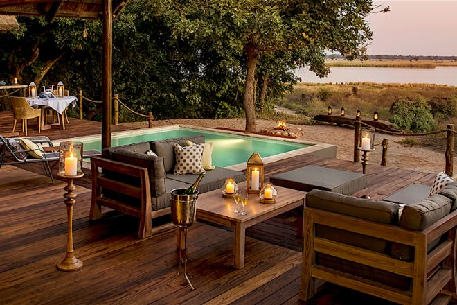 Chiawa Camp Safari Suite Deck