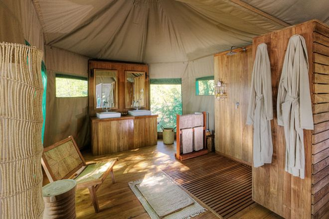 Chindeni Camp Bathroom
