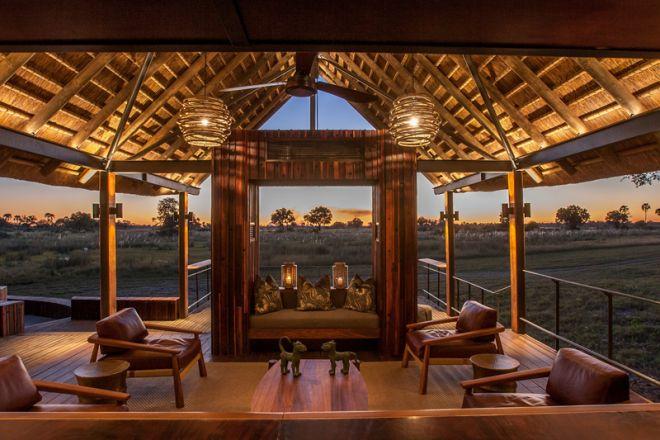 Chitabe Camp Bar View