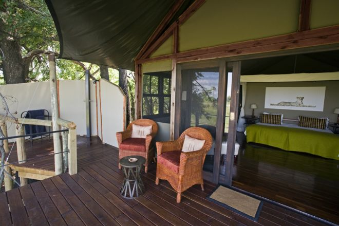 Chitabe Camp Room Deck