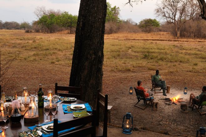 Chikoko Trails Crocodile River Camp Dining