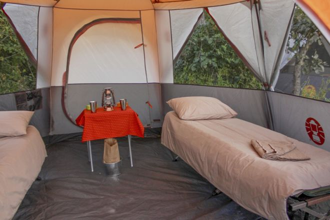 David Foot Walking Safaris Tent Interior