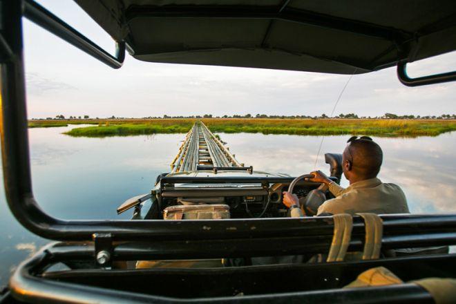Duba Plains Game Drive
