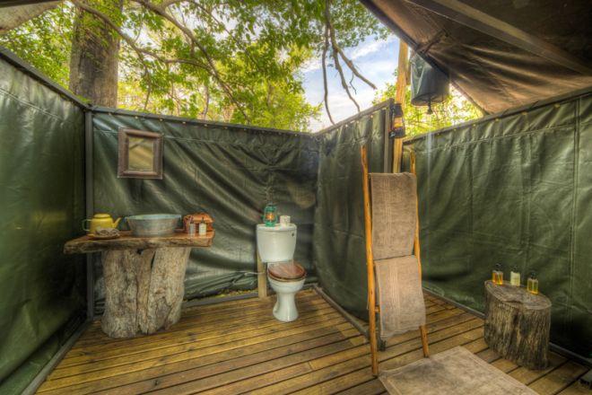 Footsteps Camp Bathroom