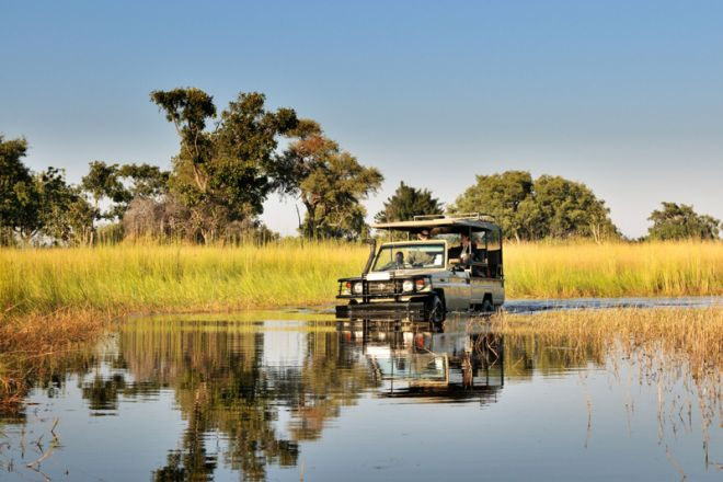 Footsteps Camp Game Drive Water