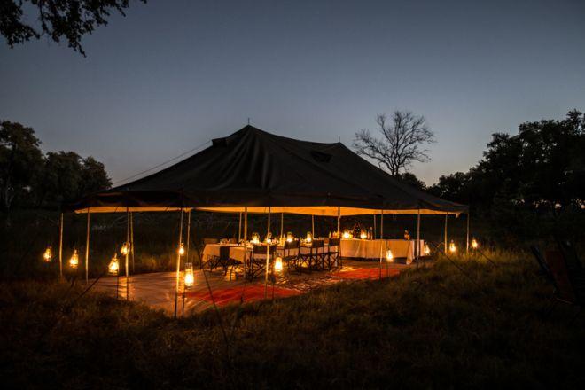 Golden Africa Safaris Dining Tent