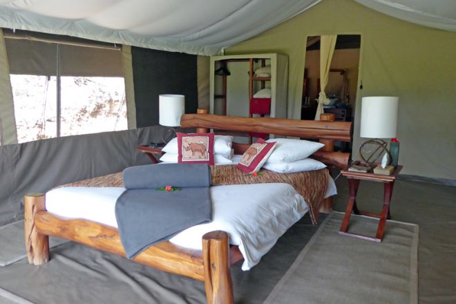 Kicheche Mara Camp Family Tent Two Bedroomed Master